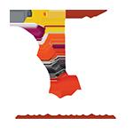 Vitrophanie Recto Verso, logo SRV