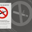 sérigraphie étiquette interdiction